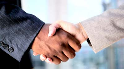 job fairs handshake