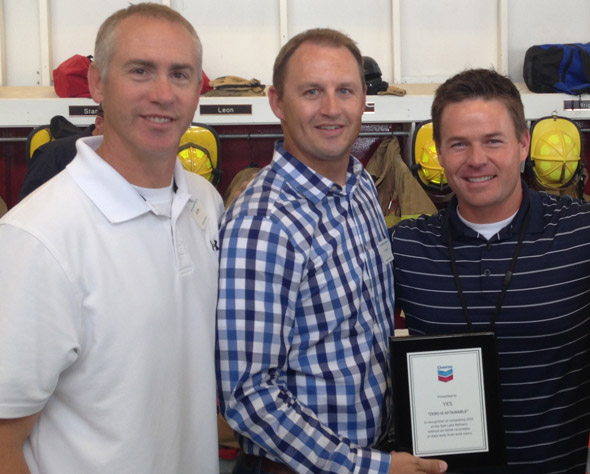 chevron safety award