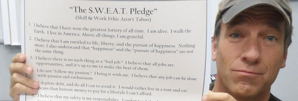 sweat pledge