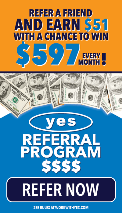 yes referral program