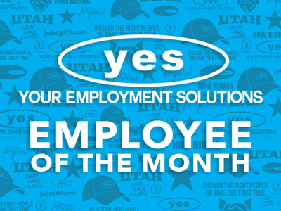 utah staffing employee of the month