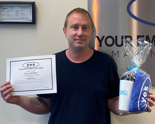 Ogden Utah staffing employee of the month
